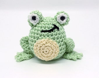 Crochet Amigurumi Frog