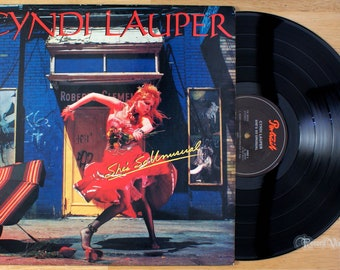 Cyndi Lauper - She's So Unusual (1983) Vinyl LP; Time After, Cindy