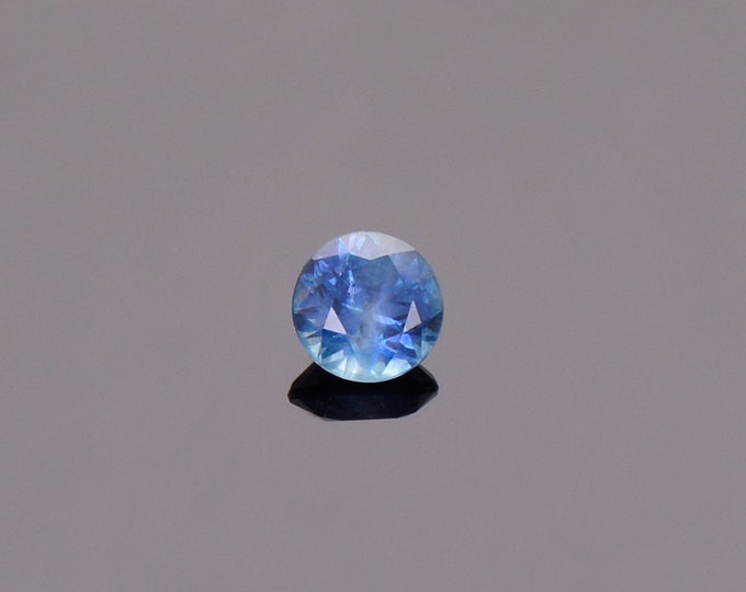 Blue Sapphire Gemstone from Montana, Round, 0.54 cts., 4.75 mm.