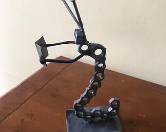 Book worm sculpture