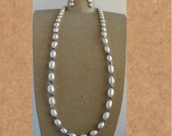 Fresh Water Pearl necklace set