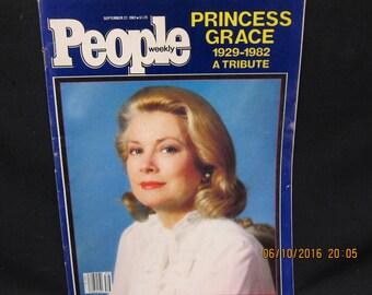 People Magazine September 27 1982 - Princess Grace 1929-1982 A Tribute