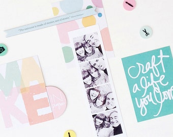 Photoshop photos photo booth strip template