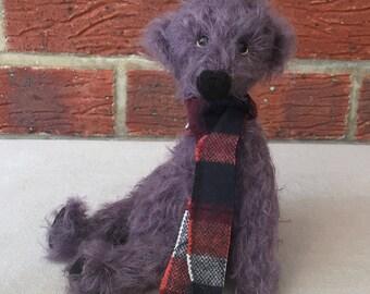 Handmade Artist Teddy Bear Roland by Fran's Bears, 8 inches (20cm) OOAK