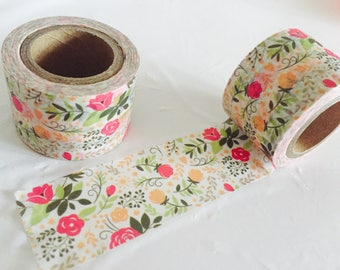 Floral Whimsy Washi Tape