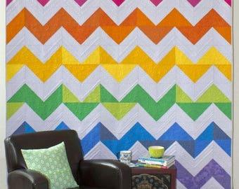 Zig Zagnoli Quilt Pattern by Seams Like A Dream - Paper Printed Pattern