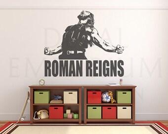 Roman Reigns Etsy