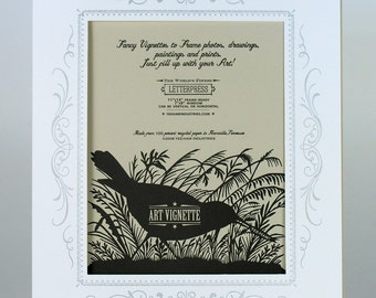 2 WHITE PHOTO MAT, fits 11x14 frame, Paper Frames, Mats for Artwork, picture Mat, photo mats, wedding photos, wedding photo mat, vignette