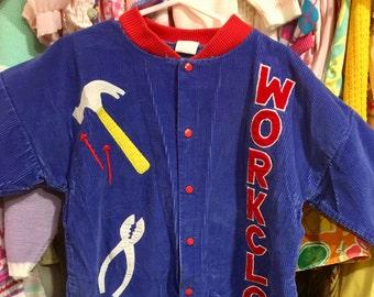 Corduroy Workman Suit 18/24 Months