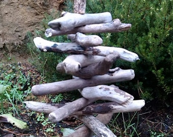 Driftwood Tree Driftwood Art Beach Decor Tree