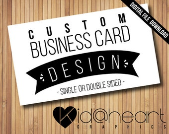 "Custom Business / Calling / Card / Cards / Design / Thank You / Punch Card / Loyalty Card / Direct Sales / 3.5"" x 2"" -Printable Digital File"