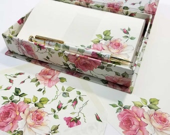ROMANTIC Stationery Box with Pen