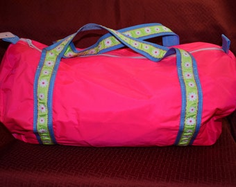 Hot Pink Duffel Bag