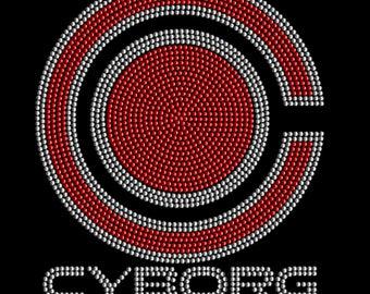 Cyborg Rhinestone T-Shirt