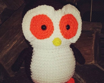 Stuffed Crochet Owl
