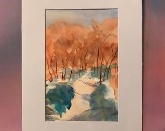 A walk in the Autumn sunlight