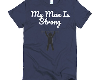 Ladies Man Short sleeve women's t-shirt
