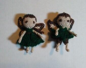 Crochet Woodland Fairies
