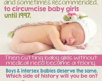 FGM Awareness Stickers