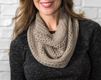 Crochet cowl pattern, crochet, cowl, pattern, easy cowl, one skein, PDF pattern,