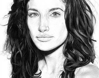 Tania Raymonde A4 drawing (2017)