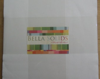 Bella Solids Layer Cake - White 98