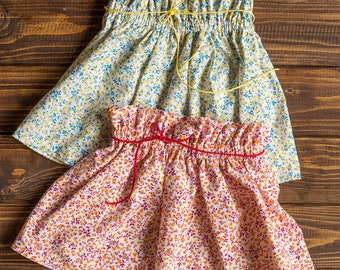 Girls skirt, high waisted skirt, twirl skirt, flowers skirt, different sizes