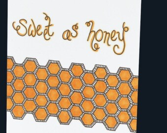 Sweet as Honey Card