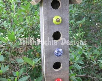 rustic birdhouse , outdoor birdhouses, country garden birdhouse, birdhouse, primitive birdhouse, barnwood birdhouse, reclaimed wood