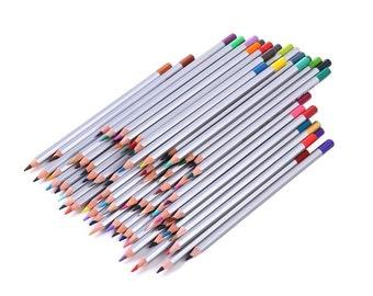 72 Professional Drawing Colored Pencils, Set of 72 Soft Core Pencils, Artist Quality Art Pencil Set