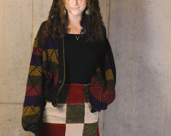 Ash Creek Trading vintage knit cardigan size large