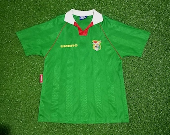 Bolivia World Cup 1994 Soccer Jersey Football Shirt M