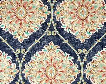 Leverett Nautical, Magnolia Home Fashions - Cotton Upholstery Fabric By The Yard