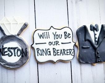 Ring Bearer Cookies