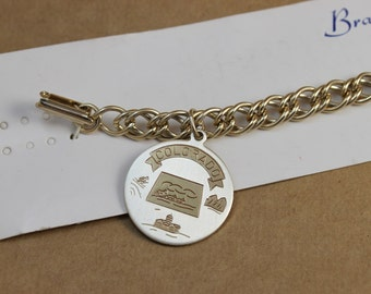 Vintage Colorado Souvenir Charm Bracelet