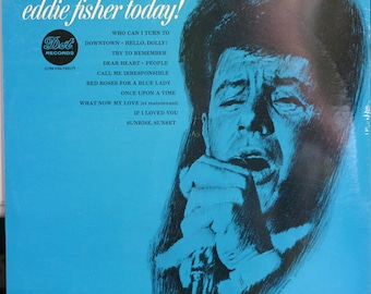 "Eddie Fisher ""Today!"" on Dot 3631 from 1965 MALE VOCAL 12"" 33RPM SEALED mono vinyl Lp"