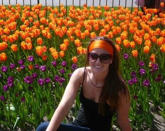 Tangerine Hippie Headband
