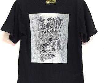 Vintage Christoper Nemeth Fashion Designer Shirt Small