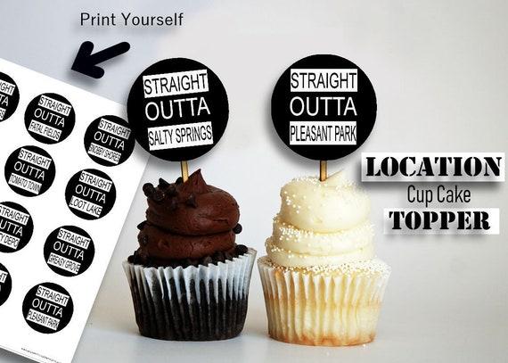 fortnite cupcake fortnite location video game birthday - diy fortnite cupcakes