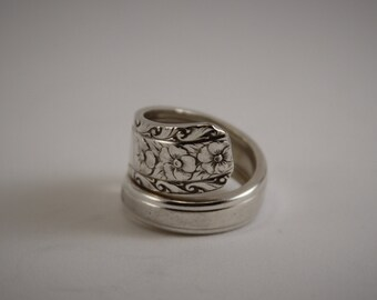 Vintage Silverware Spoon Ring