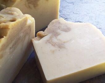 Unscented Soap, Calendula Oatmeal Soap, Organic Soap, Cocoa Butter Soap, sensitive skincare