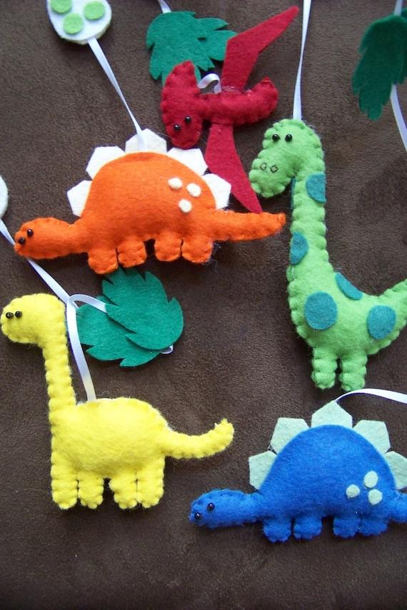 Items similar to Baby Mobile - Baby Crib Mobile - Dinosaur ...