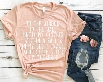 Funny Sleep T-Shirt - Wine Shirt - Funny Shirt - Funny Tee - Graphic Tee - Gift for Her - Margarita Tee - Rap Shirt - Nap Queen Shirt