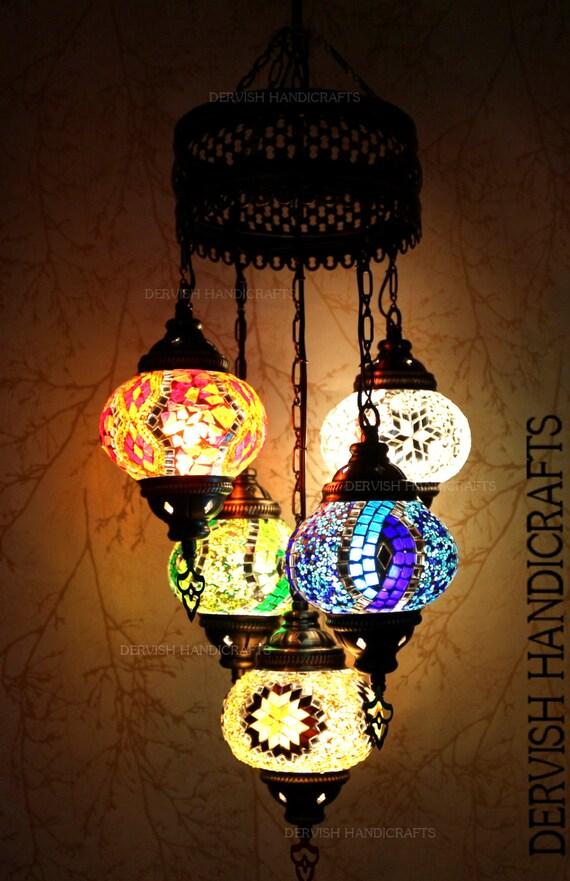 Turkish Lampbohemian Decorlampe Mosaiquemorrocan Hanginglight Fixtureturkish Light