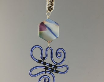 Recycled & Anodized Pendant