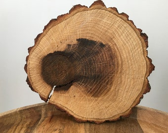 7 to 8 inch Wood Slice|Wood Slab|Wood Slice Centerpiece|Rustic Wedding Centerpiece|Rustic Wedding Wood Slice|Wedding Centerpieces|Wood Slab