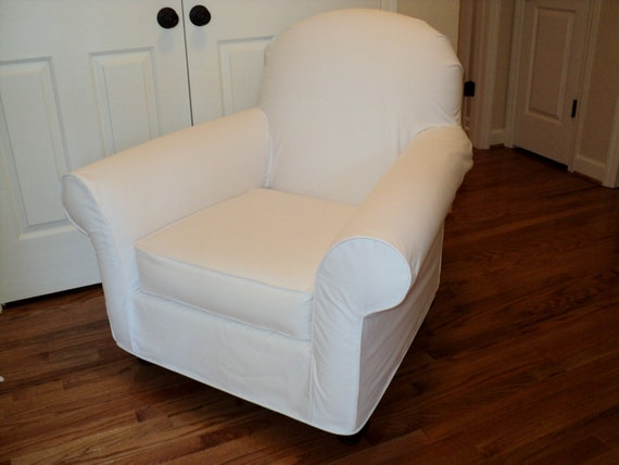 Attrayant Custom Slipcover For Your PB Dream Rocker With Wooden