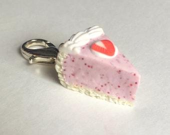 Charm / pendant / charm tart Strawberry vanilla
