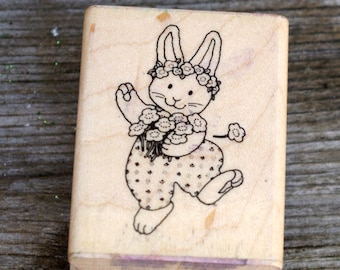 Hero Arts Wood Mounted Rubber Stamp Bunny