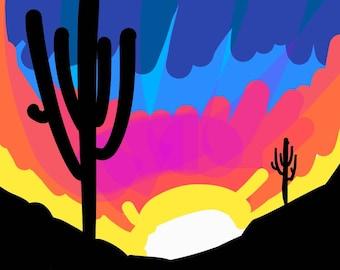 Happy Valley Sunset